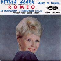 Cover Petula Clark - Roméo [français]